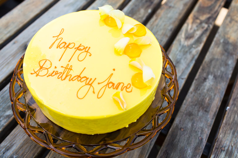 Jane Goodall Cake