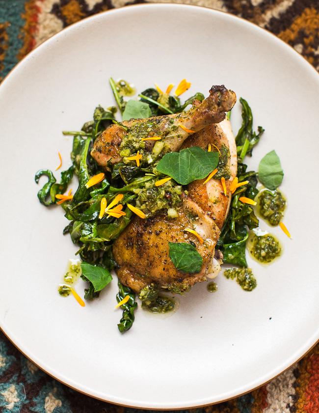 roast-chicken-and-greens